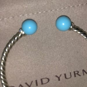 Jewelry - David Yurman Turquoise Solari Bracelet